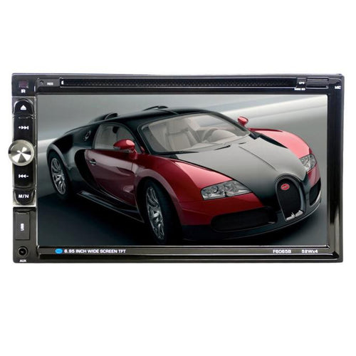 7 Touchscreen Bluetooth Car Stereo DVD/CD/MP3 Player Double 2Din In Dash USB SD