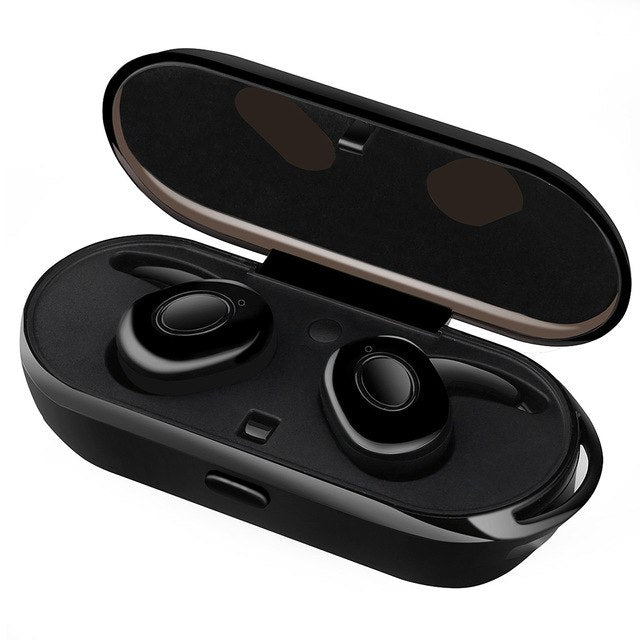 Buy VONTAR Mini Wireless Ear buds Sweat Proof wireless earphone Bluetooth portable headphone with charging box hands free headsets for $49.89