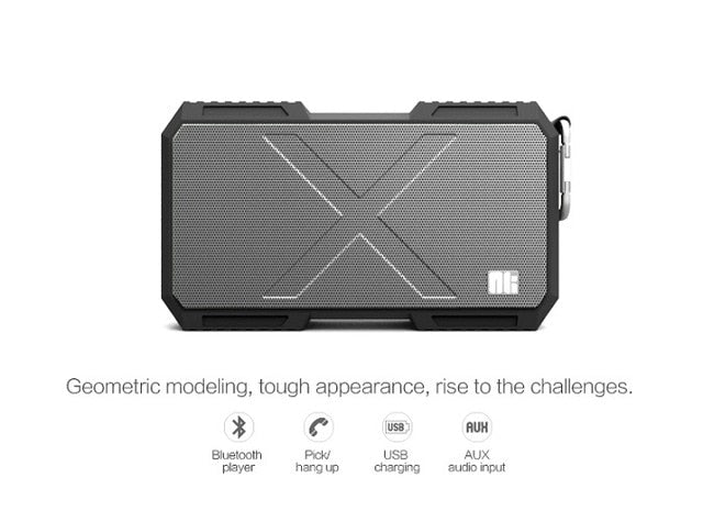 Buy Nillkin X-1 Bluetooth Speaker Power Bank Waterproof Portable Column Box music Loudspeaker Stereo Hi-Fi for iPhone For Xiaomi for $52.23