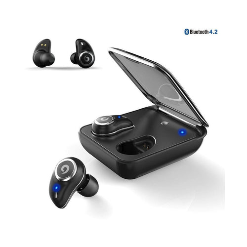 Buy I7Plus Bluetooth Earphone True Wireless Ear Buds IPX7 Waterproof 3D Stereo Headset 2000mAh Power Bank Phone Charge For Xiaomi for $36.42