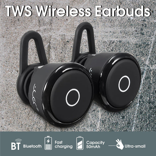Mini HiFi Bluetooth Earphones TWS Music Sports Running In Ear Buds Wireless Earbuds Bass 3D Stereo Headphones Headset