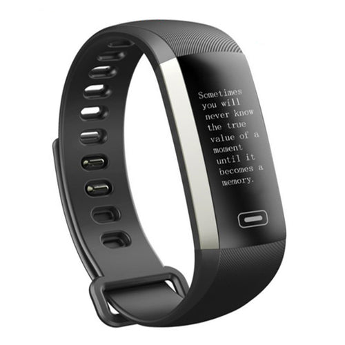 Buy Smart Watch Bluetooth Heart Rate Monitor Smart Bracelet Blood Pressure Smart Wristband Fitness Tracker (Black) for $49.99