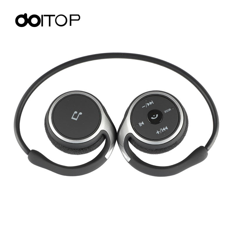DOITOP Sports BT Headphones Suicen AX-698 Support 32G TF Card FM Radio Portable Neckband Wireless Earphones Headset Auriculars 4