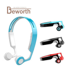 ES268 Smart Bone Conduction Bluetooth Wireless Headset Outdoor Sports Anti-Sweat Fashion After Hanging Stereo Phone Headphones
