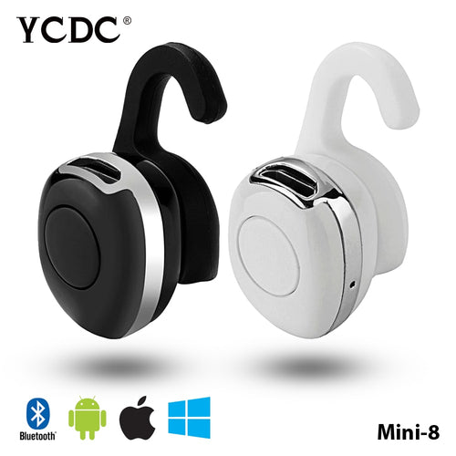 Buy Blutooth Stereo Hand Free Mini Auriculares Bluetooth Headset Earphone Ear Phone Bud Cordless Wireless Headphone Earbud Handsfree for $27.99