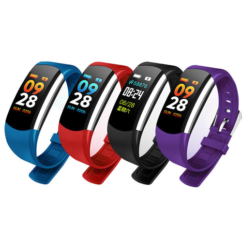 Smart Watch Bracelet Wristband Fitness Sports Blood Pressure Heart Rate Monitor