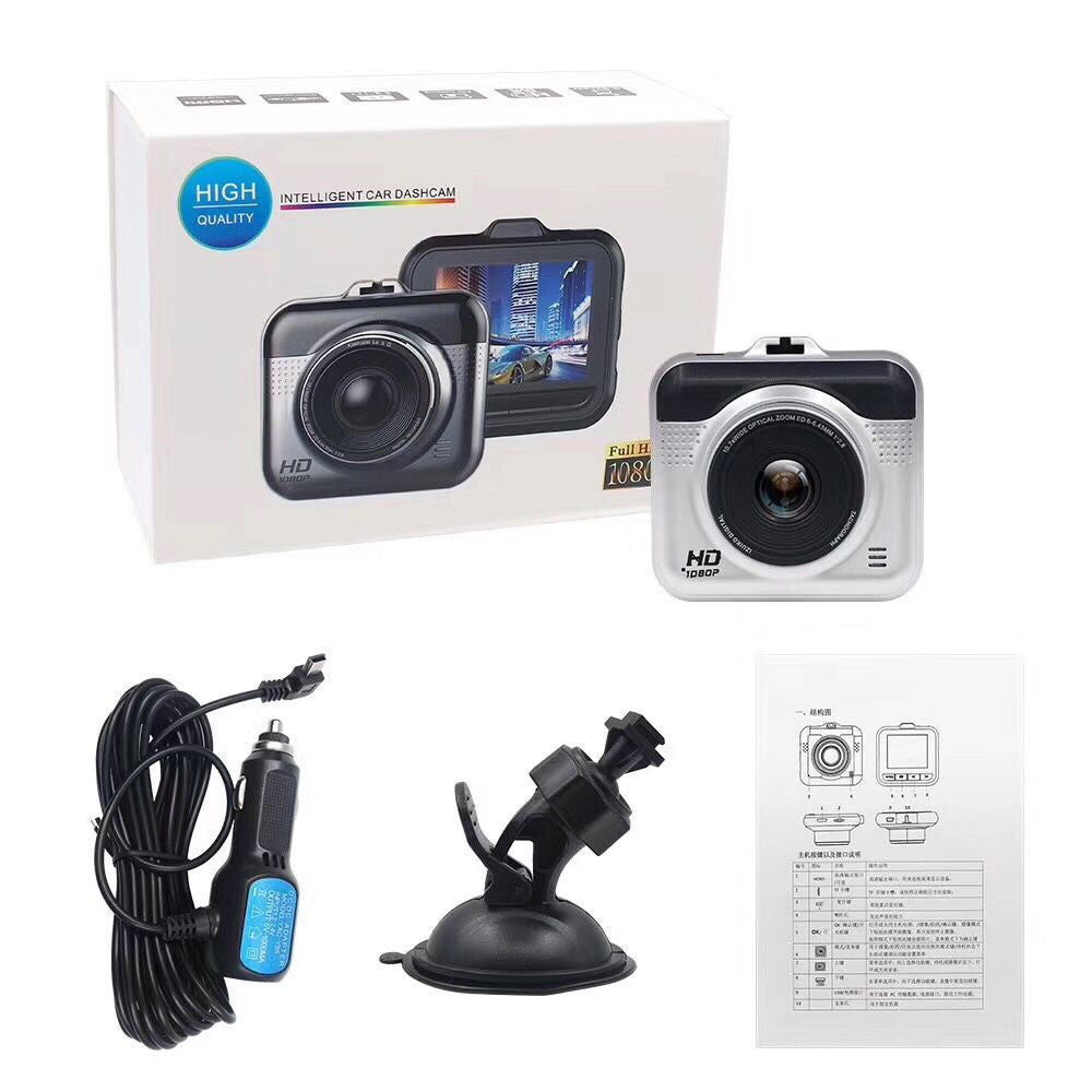 Hidden Car HD 1080P DVR Vehicle Camera Video Recorder Dash Cam 2.2inch LCD