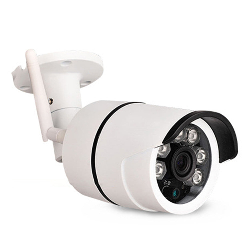 Wireless HD Night Vision Waterproof Monitoring Camera Color Outdoor Home Surveillance Security Camera with UK Plug
