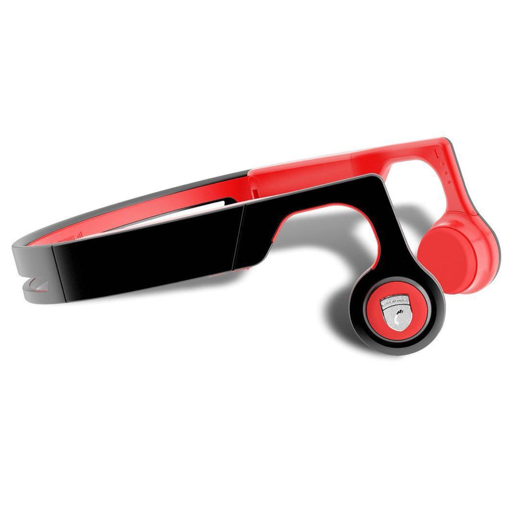 Wireless Red Bone Conduction  Sweatproof Bluetooth Sport Headset