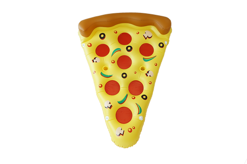 SunFloats Inflatable Pizza Slice Pool Floats