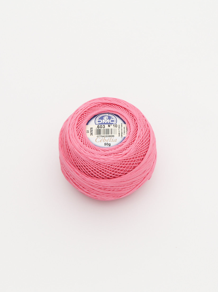 Ammee's Crochet Cotton - Pretty Pink