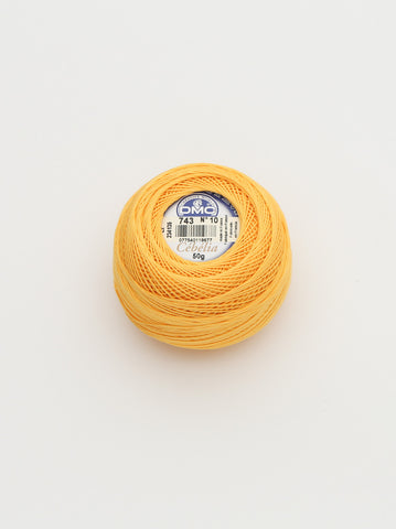 Ammee's Crochet Cotton - Yellow
