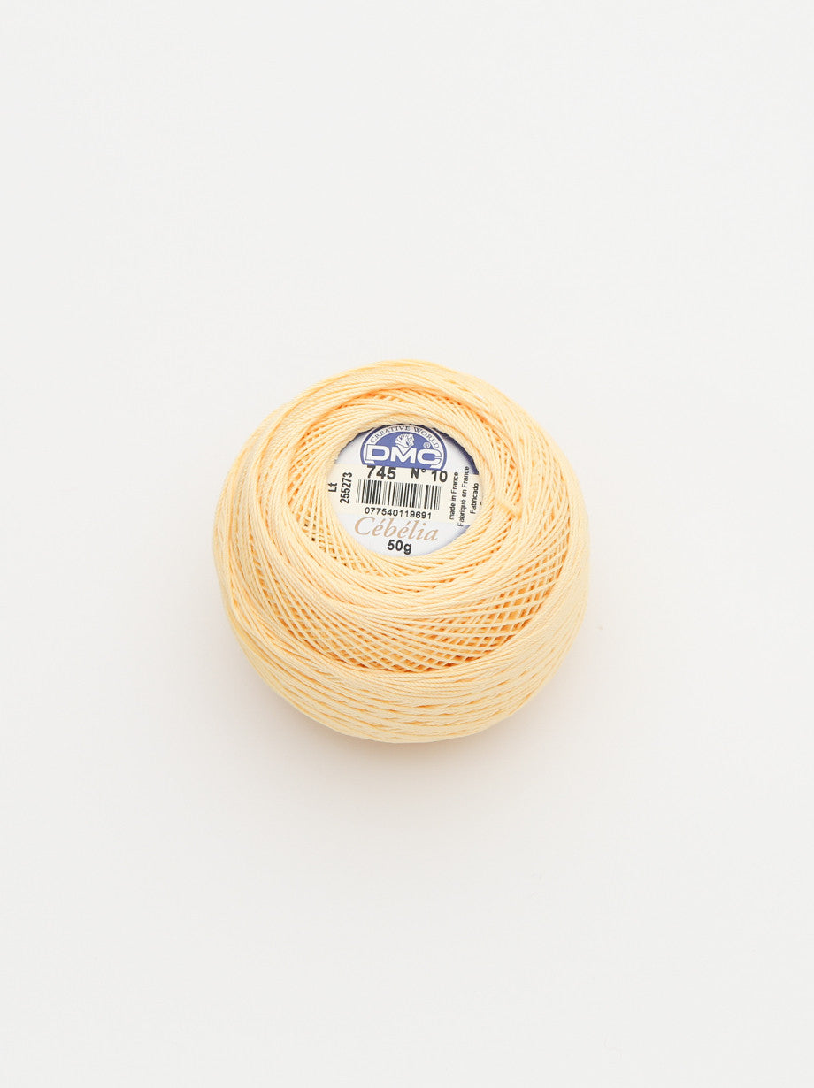 Ammee's DMC Crochet Cotton - Banana Yellow