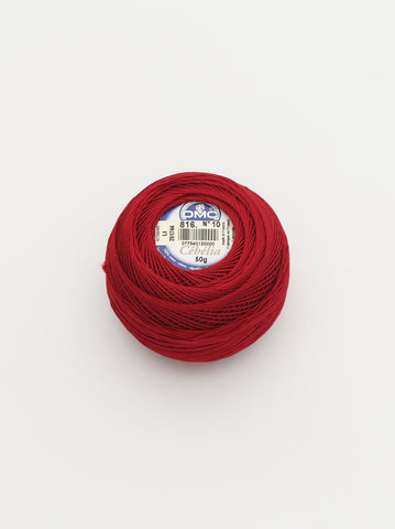Ammee's DMC Crochet Cotton - Deep Red