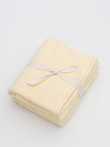Ammee's Premium Sunny Yellow Hemstitched Blanket