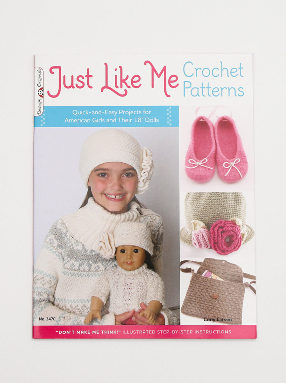 "Ammee's ""Just Like Me"" For Girls and their 18"" dolls"