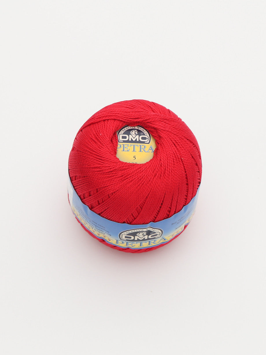 Ammee's Petra Cotton Crochet - Real Red