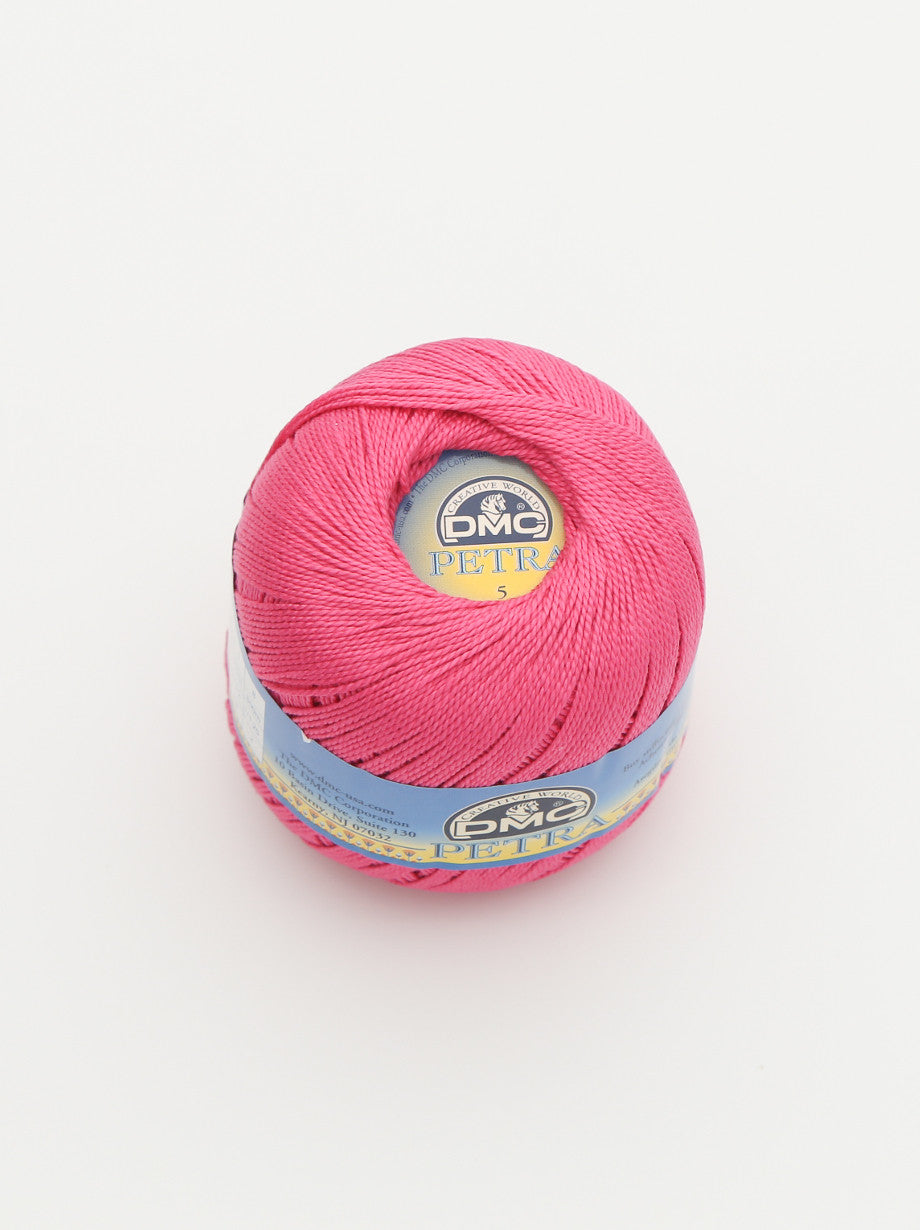 Ammee's Petra Cotton Crochet - Hot Pink