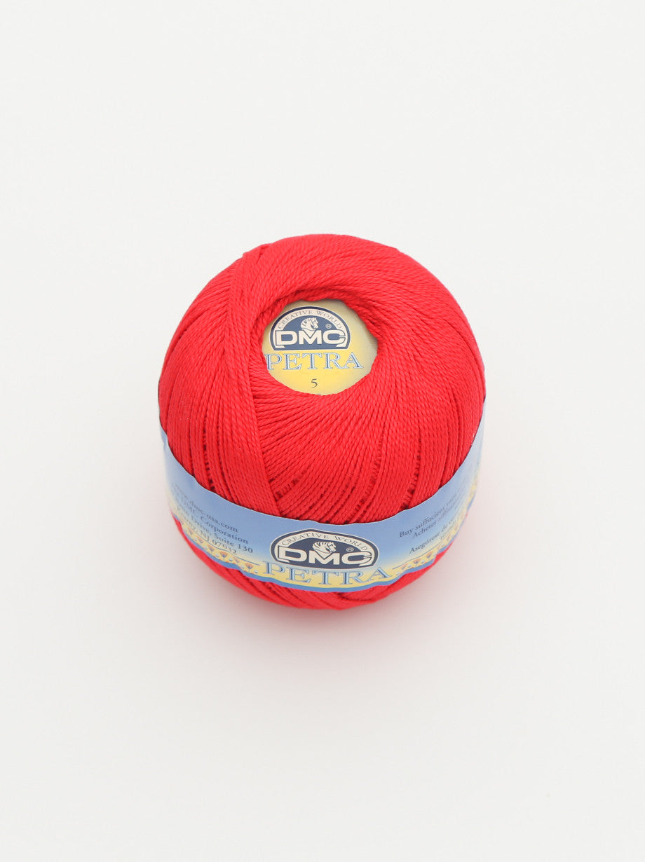 Ammee's Petra Cotton Crochet - Bright Red