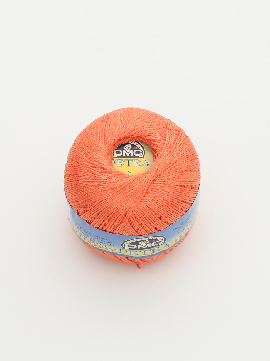 Ammee's Petra Cotton Crochet - Orange