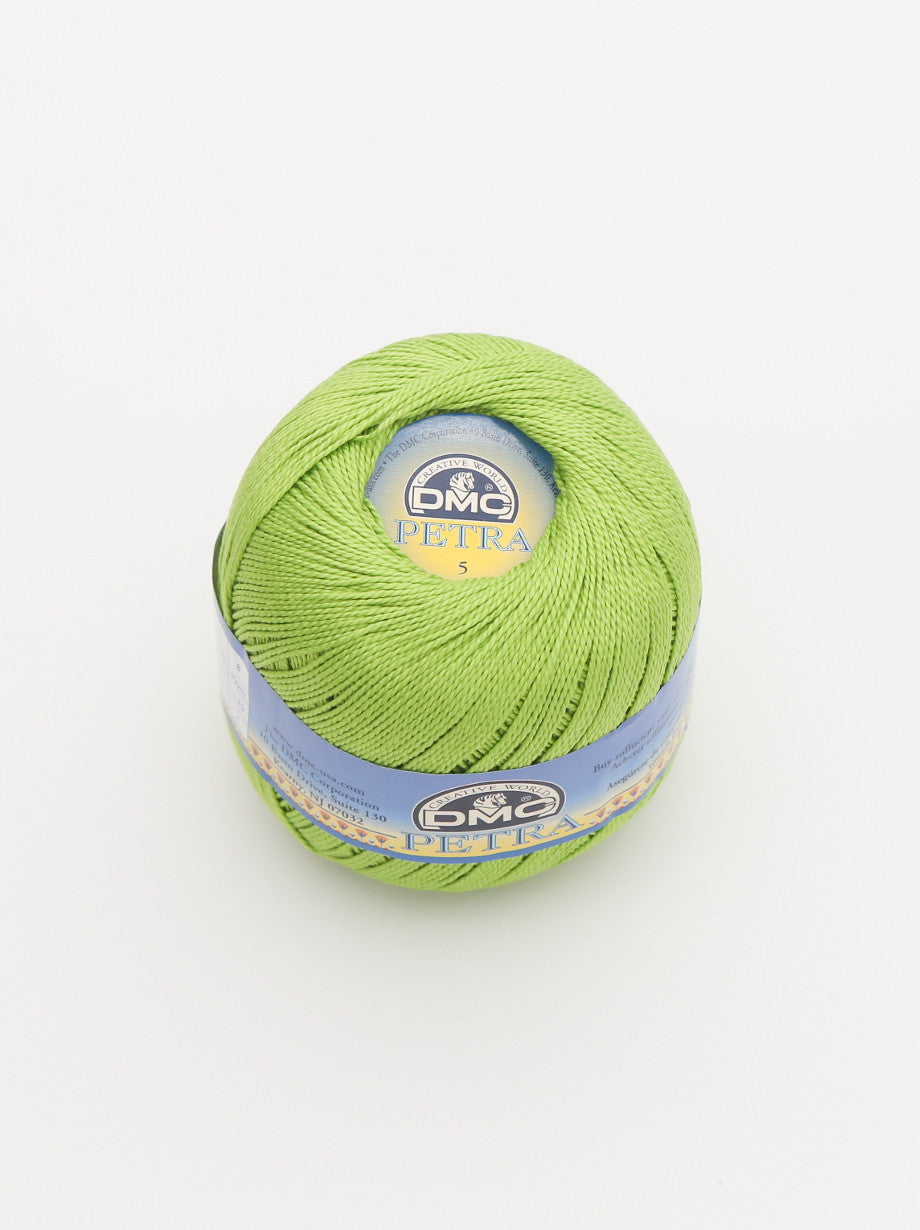 Ammee's Petra Cotton Crochet - Lime Green