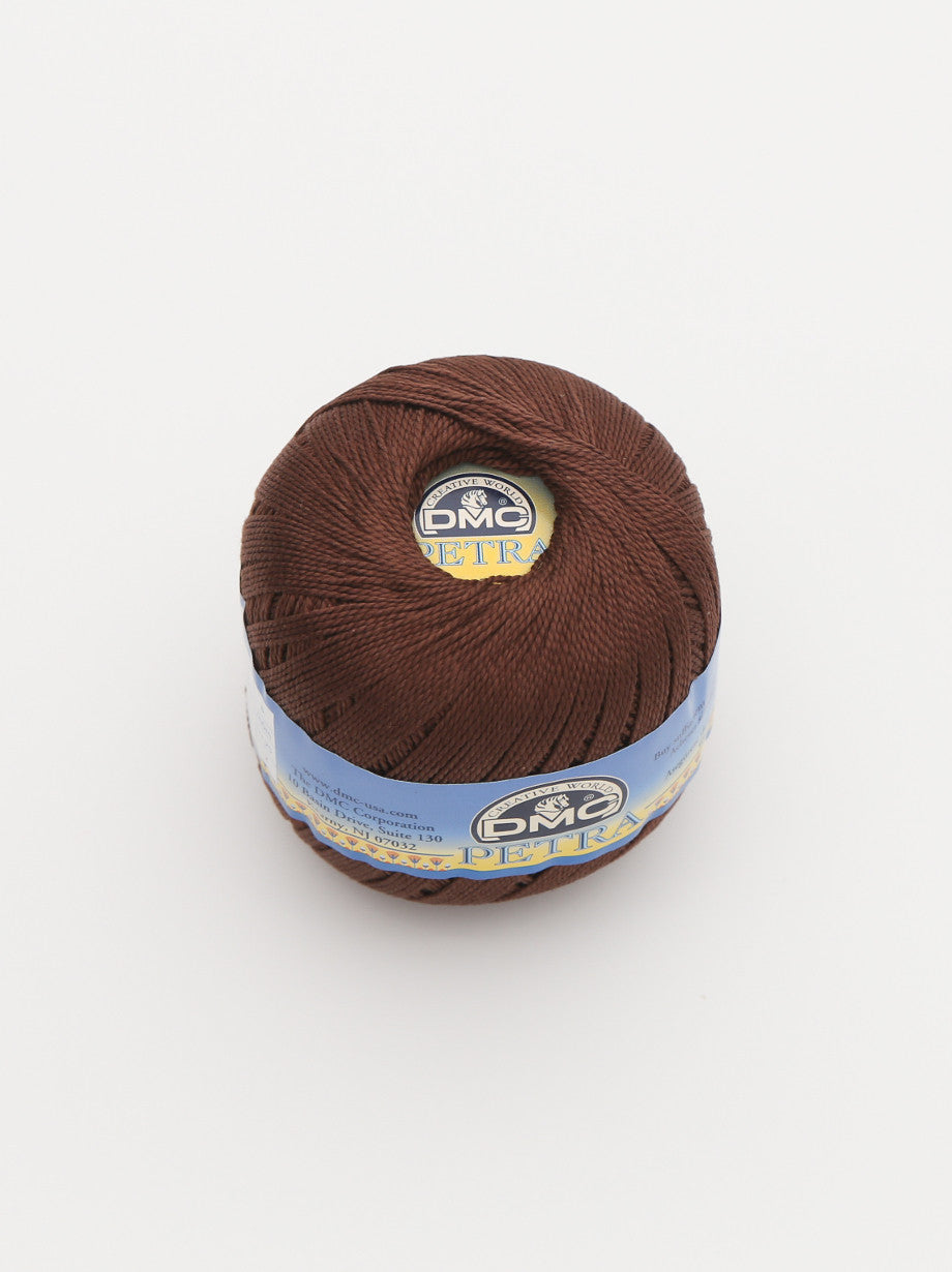 Ammee's Petra Cotton Crochet - Dark Brown