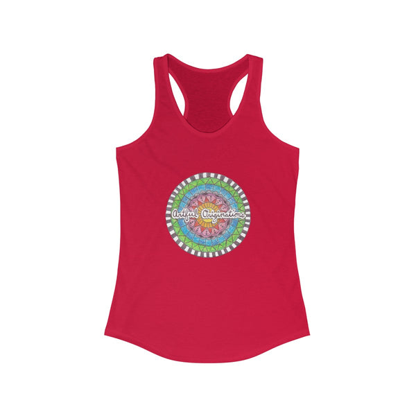 Artful Originations Women's Ideal Racerback Tank