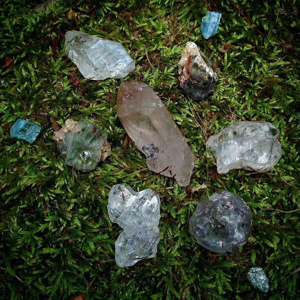 Crystal Grid for Meditation
