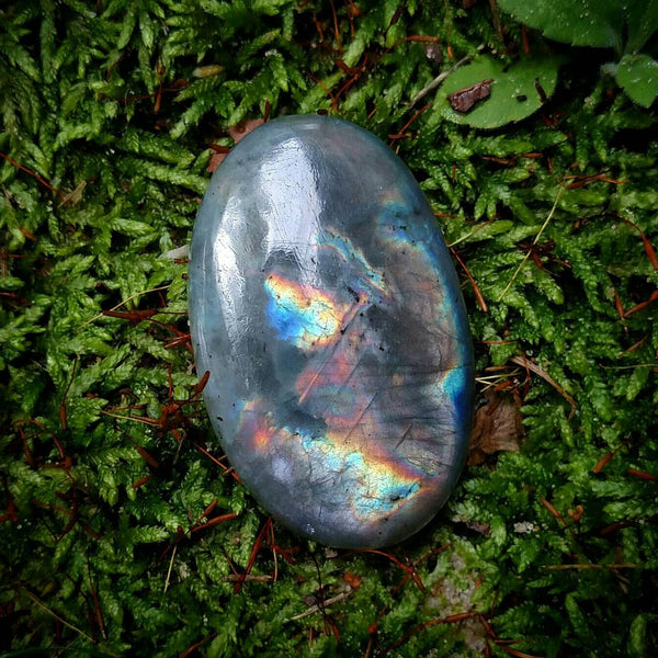 Labradorite cabochon - reserved