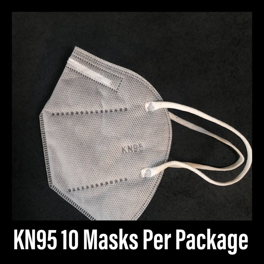 10 Pack KN 95 Mask No Filter In stock today and will ship from Portland Oregon - Belmont Blanket