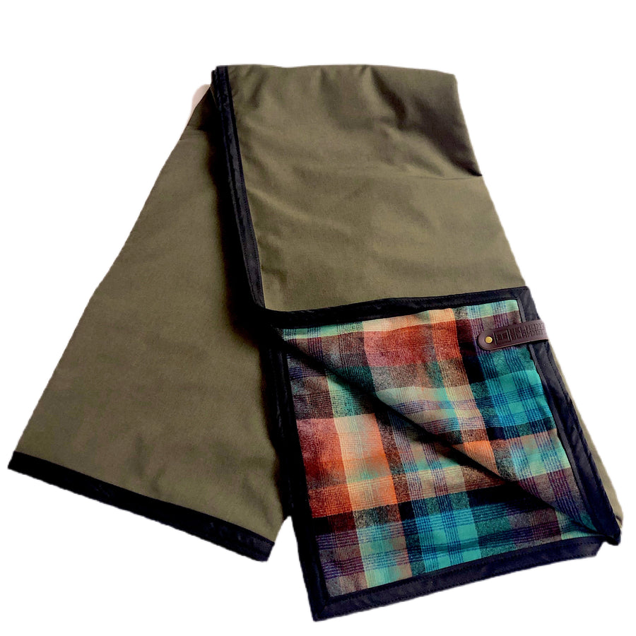 The Legacy Blanket XL - Green with Pendleton Multi-colored Tartan