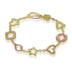 Bracelet de Charme - Mixed Gold
