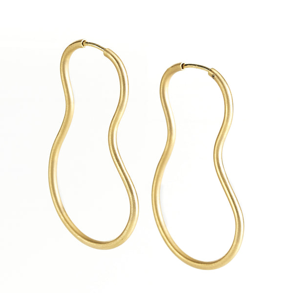 Del Earrings 18K yellow Gold