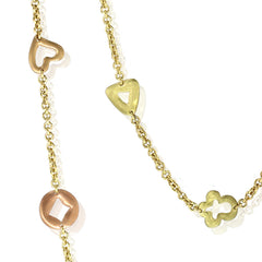 So-Chanceux Necklace - 18k Yellow gold