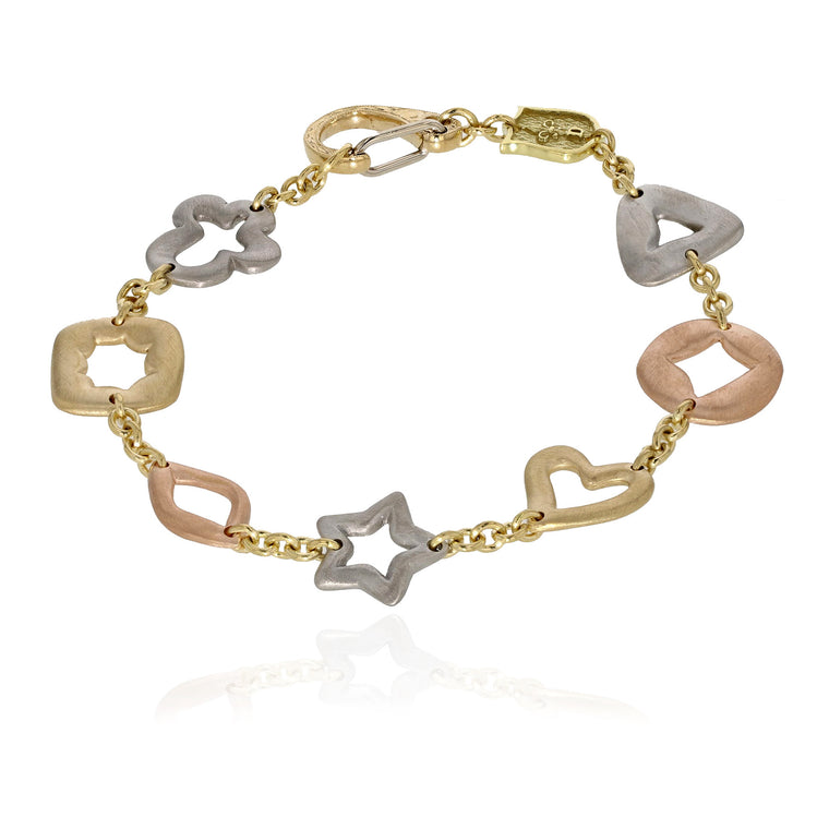 Bracelet de Charme - Mixed Metal