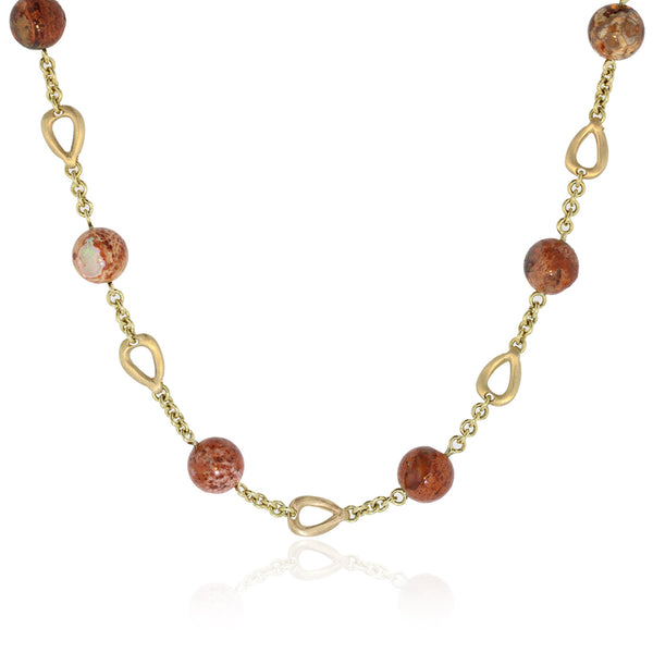 Sunset Necklace - 18k Yellow Gold