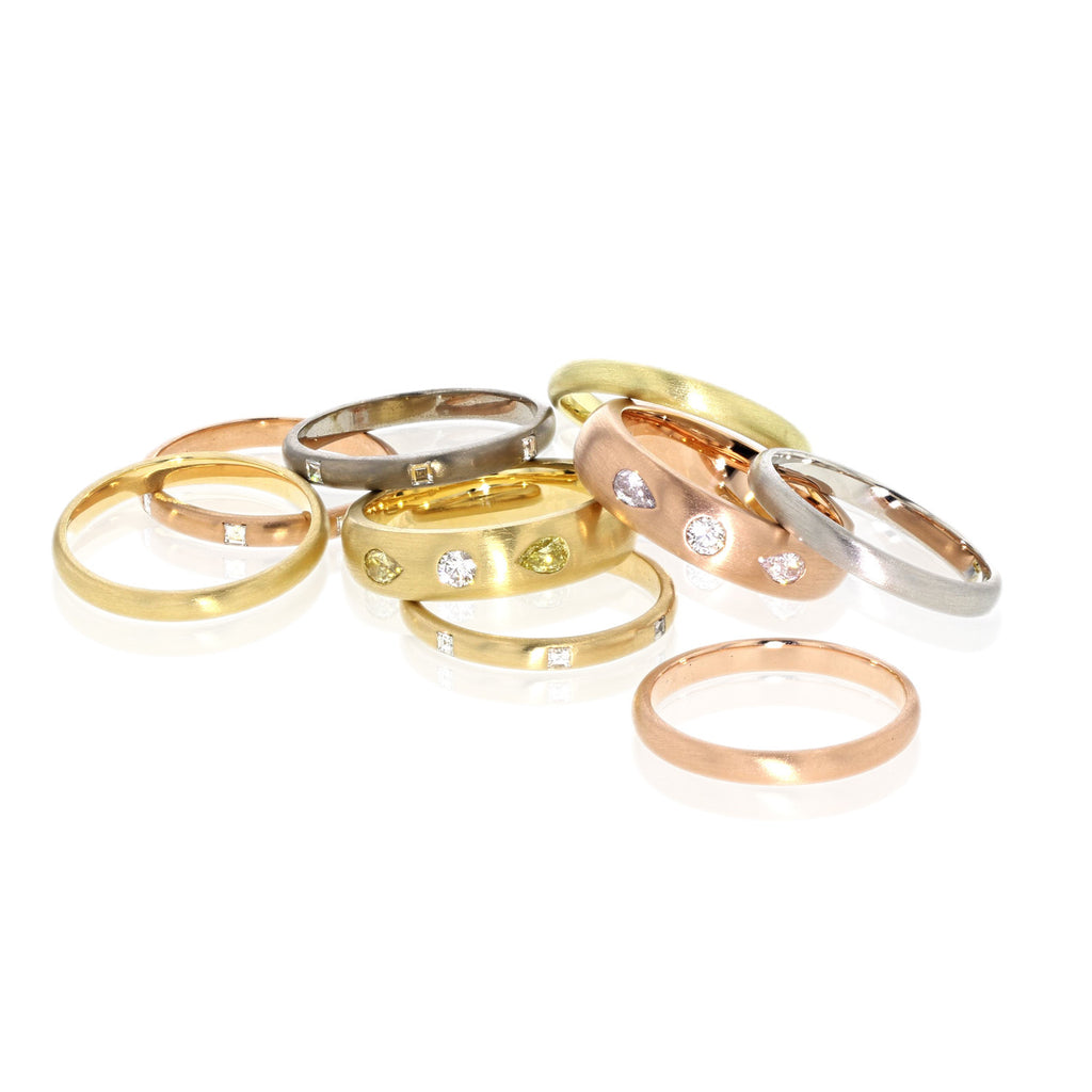 band ring media engraved mens bands nordic wedding gold