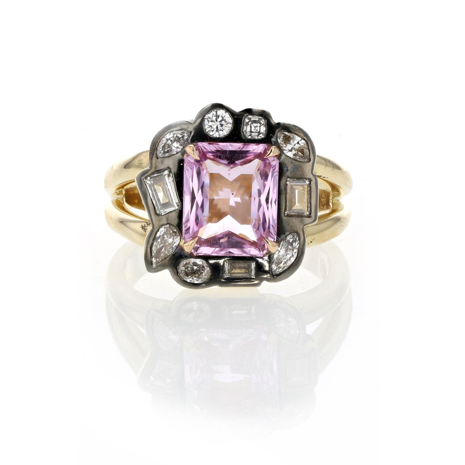 One of a Kind Pink Sapphire Ring