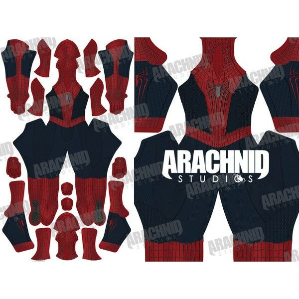 Amazing Spider-Man 2 no Muscle Shading - Aesthetic Cosplay, LLC