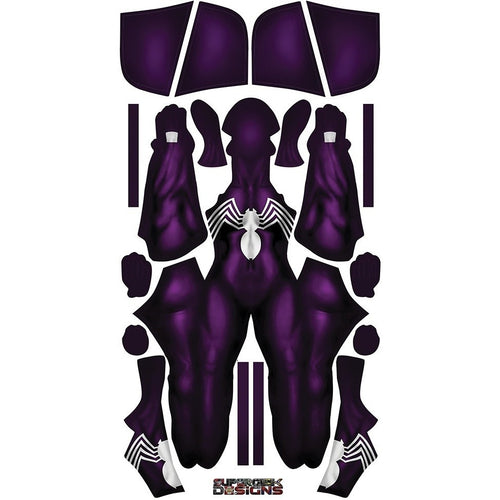 Purple Symbiote Gwen - Aesthetic Cosplay, Inc.
