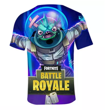 Fortnite Tshirt - 3D Print Design - Quick Dry - Crew Neck T-Shirt - Aesthetic Cosplay, LLC
