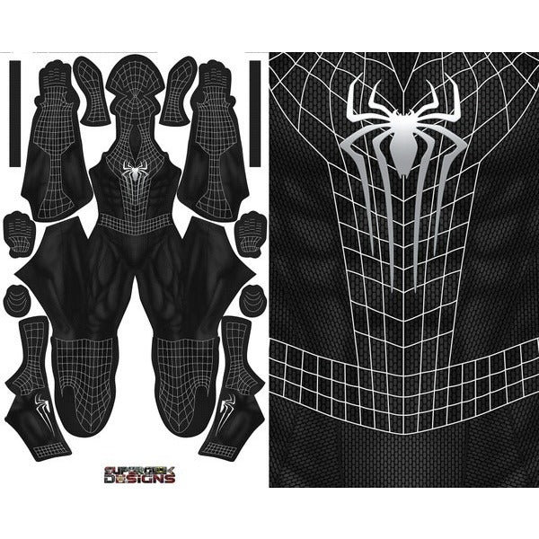 The Amazing Spider-Man 2 Symbiote - Aesthetic Cosplay, Inc.