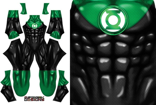 John Stewart Green Lantern - Aesthetic Cosplay, Inc.