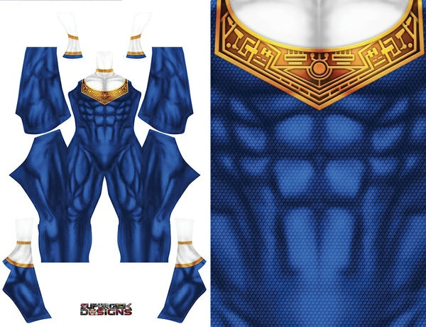Blue Zeo Ranger - Aesthetic Cosplay, Inc.