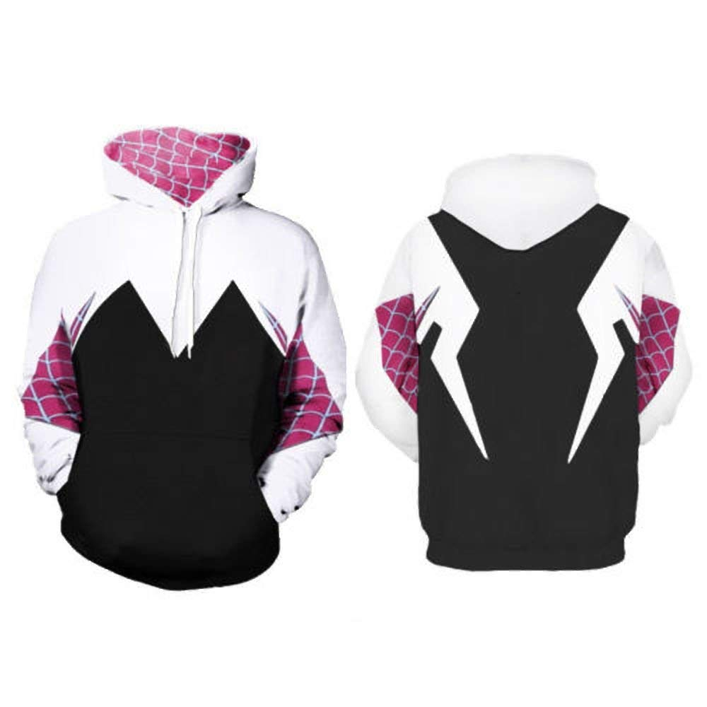 Gwen Stacy Hoodie - Sweater with Kangaroo Pocket - Aesthetic Cosplay, LLC
