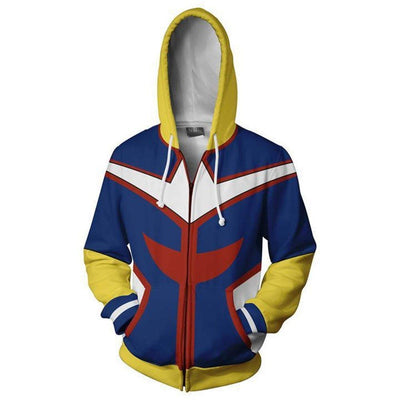 Boku No Hero Academia My Hero Academia Hoodie - All Might - Aesthetic Cosplay, LLC