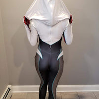 Ghost Gwen - Into The Spider-Verse Suit - Aesthetic Cosplay, LLC
