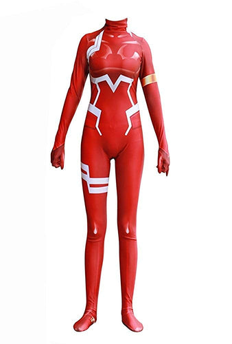 Darling in the FRANXX Zero Two Cosplay Suit