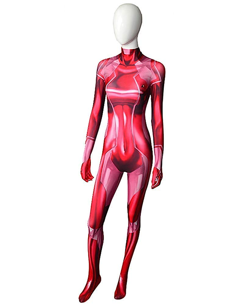 Zero Suit Samus - Red Suit - Aesthetic Cosplay, LLC