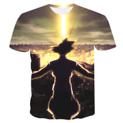 Goku Dragon Ball Z DBZ Compression T-Shirt Super Saiyan - 12 - Aesthetic Cosplay, LLC